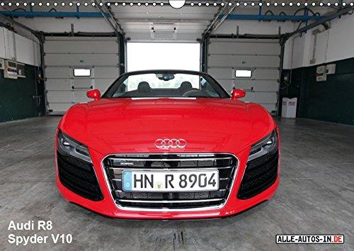 Vollblut-Sportler (Wandkalender 2019 DIN A3 quer): Audi R8 Spyder V10 5.2 FSI (Monatskalender, 14 Seiten ) (CALVENDO Mobilitaet)