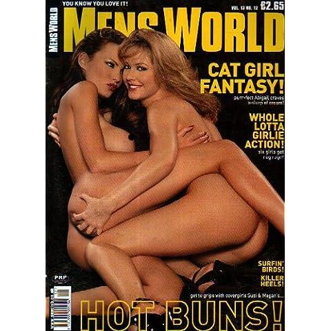 Mens World Magazine Volume 13 Number 12 2001 with Sylvia Saint and Abigail Toyne
