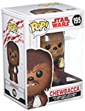 Funko 14748 No Bobble: Star Wars: E8 TLJ: Chewbacca w/PORG (POP 7)