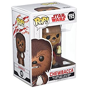 Funko Pop Chewbacca con Porg (Star Wars 195) Funko Pop Star Wars