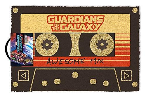 empireposter Guardians of The Galaxy - Vol. 2 - Awesome Mix - Fußmatte Türmatte Größe: 60 x 40 cm, Material Kokosfaser
