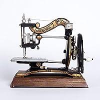 youjiu Suerte Mopec Decorativas Adornos Pequeños Creativos Modelo De Máquina De Coser Antigua Ornamentos De Muebles