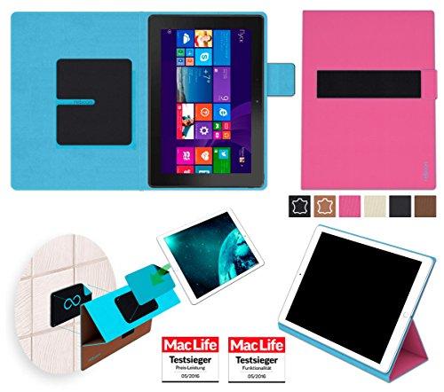 reboon Hülle für Dell Venue 10 Pro LTE 64 GB Tasche Cover Case Bumper | in Pink | Testsieger