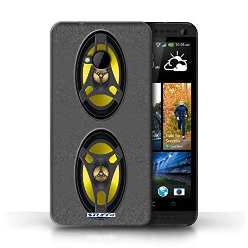 Coque de Stuff4 / Coque pour HTC One/1 M7 / Hifi Design / Haut-Parleur dessin Collection Autoradio