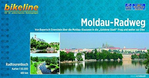 Moldau - Radweg GPS wp Prag - die Donau über Cesky Krumlov por Bikeline