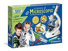 Idea Regalo - Clementoni 13966 - Scienza e Gioco Microscopio Scientifico