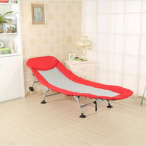 Cama plegable simple silla salón cama pesca portátil