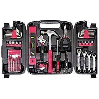 Apollo Werkzeuge dt9408p Haushalt Tool Kit (53Stück), Pink, DT9408P