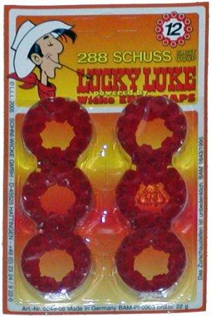 Lucky-Luke-12er-Amorcesringe-Wicke-Knallmunition