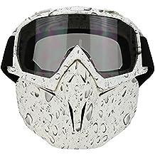 Surenhap Motocicleta motocross gafas máscara dirt bike ATV MX Goggles para desierto offroad riding racing fits Hombres Mujeres Juventud Niños