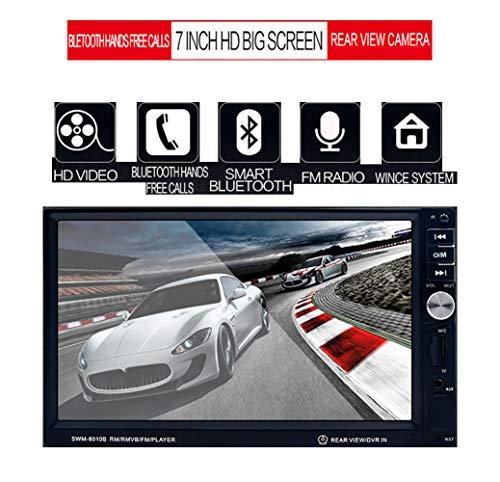 Unbekannt Auto MP5-Player Bluetooth-Anruf Radio SD-Karte HD 7-Zoll-Stereo-Rückfahrkamera mit umgekehrter Priorität