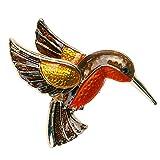 La Cabina Cristal Strass Broche -Broche Mariage -Broche Décoré Vêtement et Festival Bijoux Multi -style Animaux (oiseaux classique)