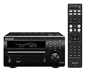 Denon RCD-M40DAB Sintoamplificatore con Ricevitore DAB e Lettore CD, Nero
