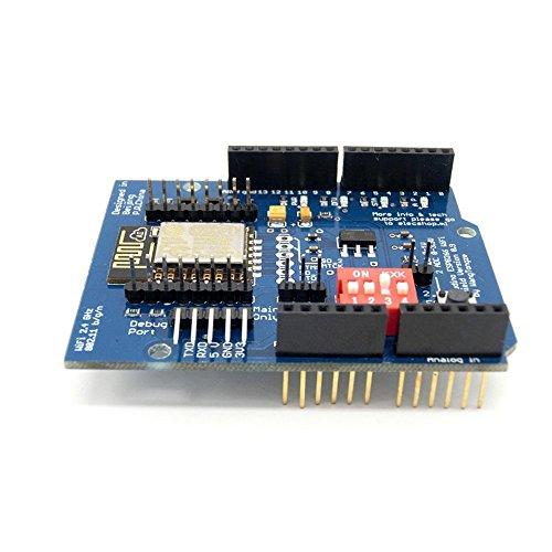 ARCELI ESP-12E ESP8266 UART WiFi Protector inalámbrico