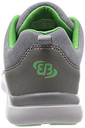 Bruetting Dallas Slipper, Sneaker Infilare Unisex – Adulto Grigio (Grau/gruen)