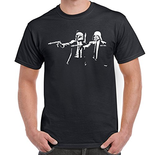 Herren t-shirt Banksy Pulp Fiction Storm Trooper Star Wars lustige shirts fun shirt Perfektes Geschenk für geliebte Mens Funny T Shirts (Wars-jugend-t-shirt Star)