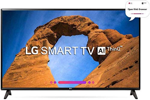 LG 108 cm (43 inches) Full HD Smart LED TV 43LK5760PTA (Black) (2018 model)