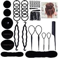 Lictin Accesorios de Peinado Kit Set para Mujeres; Set de Diseño de Cabello