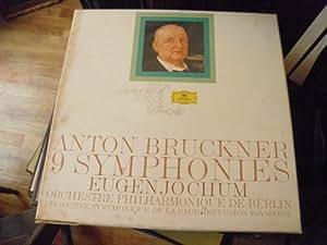 Anton Bruckner - 9 symphonies O.P de Berlin Eugen Jochum - édition commémorative le monde de la symphonie- 11 disques deutsche grammophon