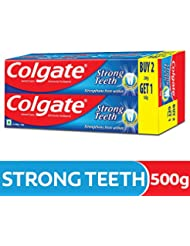 Colgate Dental Cream Toothpaste - 200 g (Pack of 2) with 1 Free Dental Cream - 100 g