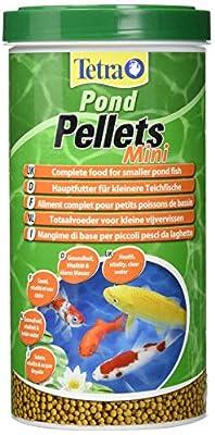 Tetra Pond Pellets Mini, Complete Fish Food for Smaller Pond Fish, 1 Litre