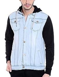 Campus Sutra Men's Denim Jacket
