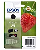 Epson 29 Serie Fragola, Cartuccia Originale Getto d'Inchiostro Claria Home, Formato Standard, Nero, con Amazon Dash Replenishment Ready