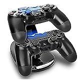 Expresstech @ Dualshock Ladegerät Halterung Stand Ständer Dockingstation Ladestation Mit LED Indicator Für Sony Playstation 4 PS4 Slim PS4 Pro Dualshock Controller -