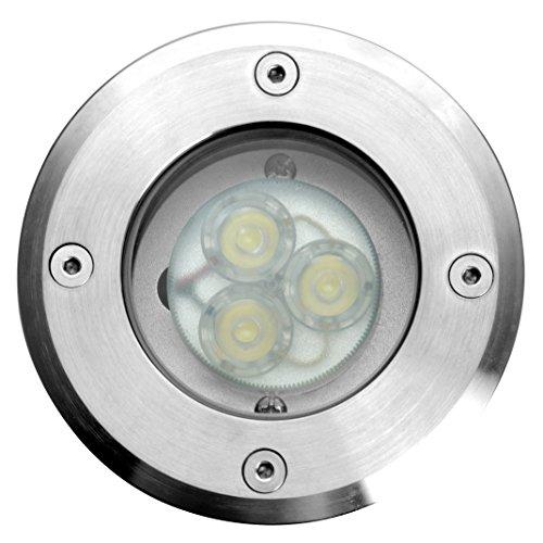 ECO de luz LED-Planta lugar empotrado Berlín 3LED, redondo, 11 cm de...