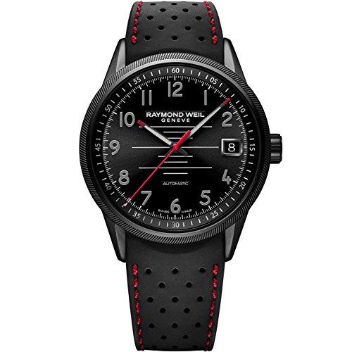 raymond-weil-freelancer-pilot-herren-armbanduhr-42mm-armband-kautschuk-schwarz-automatik-2754-bkr-05