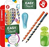 Stabilo EASY-Starter-Set R5 farb.sort. mit Bleistiften, Buntstiften, Dosenspitzer und Radierer