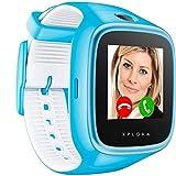 XPLORA 3S - Smartwatch para tu hijo, resistente al agua, cámara, SIM no incluida, Azul