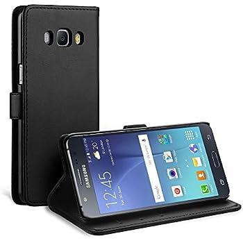 Samsung Galaxy J5 (2016) Housse HCN PHONE® Coque Etui Clear View Cover pour Samsung Galaxy J5