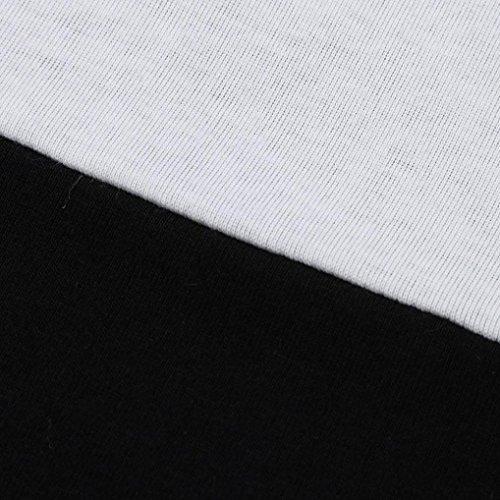 Sixcup Maglia a manica lunga - Donna Black