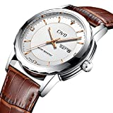 Best Mens Watches - CIVO Mens Watches Waterproof Date Calendar Analogue Quartz Review