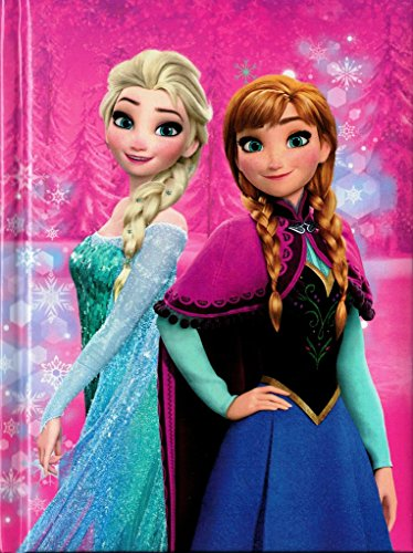 Cartoon world diario agenda scuola disney - frozen anna elsa - 10 mesi a