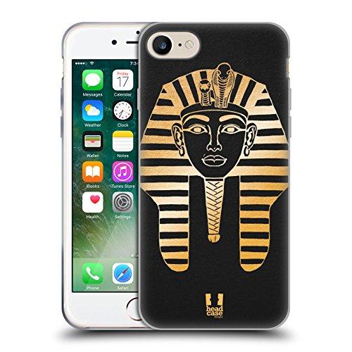 Head Case Designs Akhenaten Les Icônes De L'égypte Antique Étui Coque en Gel molle pour Apple iPhone 6 / 6s Pharaon