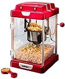 celexon CinePop CP1000 Popcornmaschine, Edelstahltopf, Innenbeleuchtung, 24,5 x 28 x 43 cm, 1,1kg