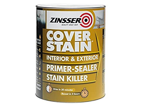 Zinsser - Teinture Coverstain Apprêt / Joint - 1 Litre