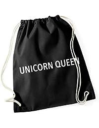 Unicorn Queen Gymsack Black Certified Freak