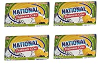 National Dishwash cake(combo pack of 4-170g each)