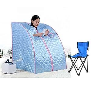mobile sauna mini dampfsauna heimsauna w rmekabine sitzsauna saunakabine blau baumarkt. Black Bedroom Furniture Sets. Home Design Ideas