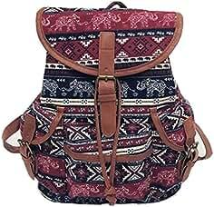 7fcc747be1053   Frauen Vintage Canvas Tasche VENMO National Wind Rucksack Reisetasche  Schultasche Mädchen Rucksack