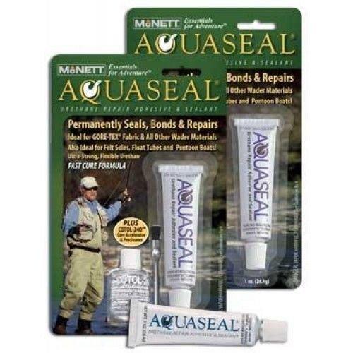 Mcnett Aquaseal Urethane Repair Adhesive/Sealant - Permanetly