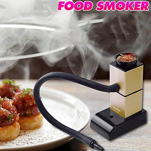 ZHWDD Fumador Fumador Infusor, ahumador portátil con Tapa de Humo Mini Utensilios de Cocina Ampliar...