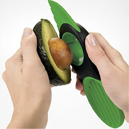 3 In 1 Avocado Slicer Peeler Skinner Model: (Home & Kitchen) by Jooniyaa