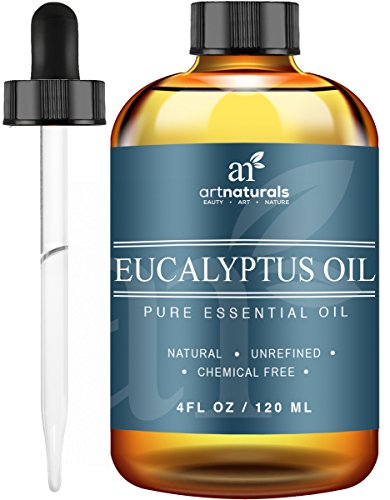 Price comparison product image ArtNaturals Eucalyptus Essential Oil for Aromatherapy - 118 ml 3pc Set - Therapeutic Grade 100% Pure & Natural Oils - Includes Our Signature Zen & Chi Blends - 10ml Each