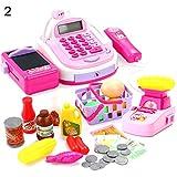 mAjglgE Lustiges Rollenspiel-Simulation, Supermarkt, Kassenregister, elektronisches Spielzeug für Kinder