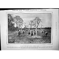 Stampa Antica degli Avvocati Tedeschi 1906 di Bourville dei Sindaci della Palla del Canestro