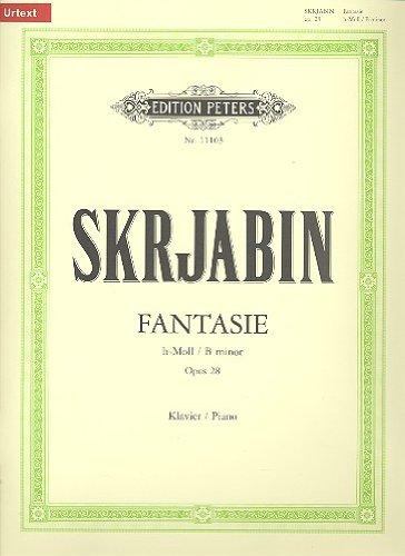 Fantasie B Op.28 P. Piano